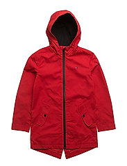 DG THKB TRAINER COAT 36 PARKA - RED