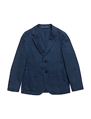 STRUCTURED BLAZER - BLUE