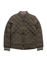 THKB QUILTED JACKET - GREEN