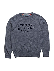 AME TOMMY TRIPLE CN SWEATER L/S - BLUE
