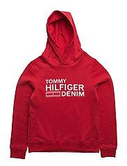 AME HILFIGER HD HWK L/S - RED