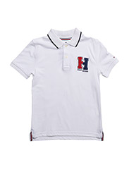 AME BADGE POLO S/S - WHITE