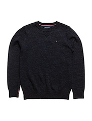 AME INK ROPE CN SWEATER L/S - BLUE