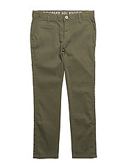 AME SKINNY CHINO NFST GD - GREEN