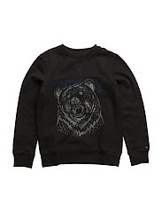 BEAR CN HWK L/S - BLACK