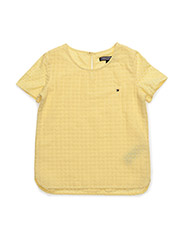 FLORENCE TOP S/S - YELLOW