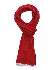 SOLID SCARF - RED