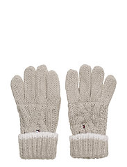 SOLID GLOVES - GREY
