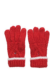 SOLID GLOVES - RED