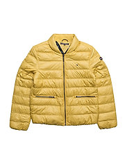 THKG PACKABLE LIGHT DOWN JACKET - YELLOW