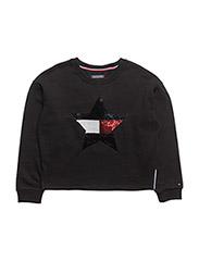 H SEQUINS STAR CN HW - BLACK BEAUTY