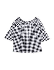 DELIGHTFUL GINGHAM T - TOMMY BLACK