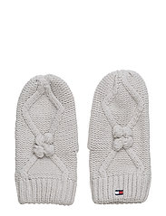 SOLID MINI MITTENS - GREY