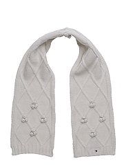 SOLID MINI SCARF - GREY