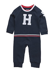 BABY BOY HWK COVERALL L/S - BLUE