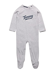 TH BABY COVERALL L/S - GREY
