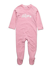 TH BABY COVERALL L/S - PINK