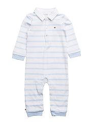 PEPPY STRIPE BABY RU - BABY BLUE