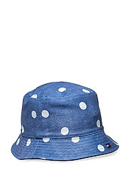 REVERSIBLE BUCKET HA - POLKA DOT PRINT