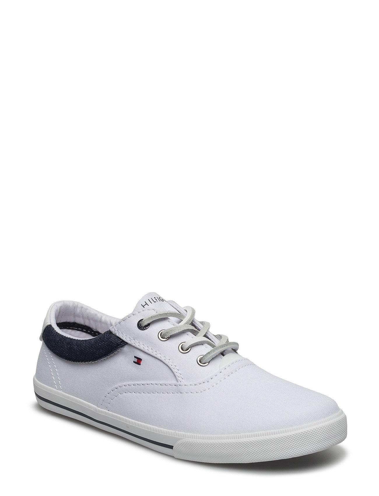 W3285inston Jr 1d Tommy Hilfiger Sko & Sneakers til Børn i hvid