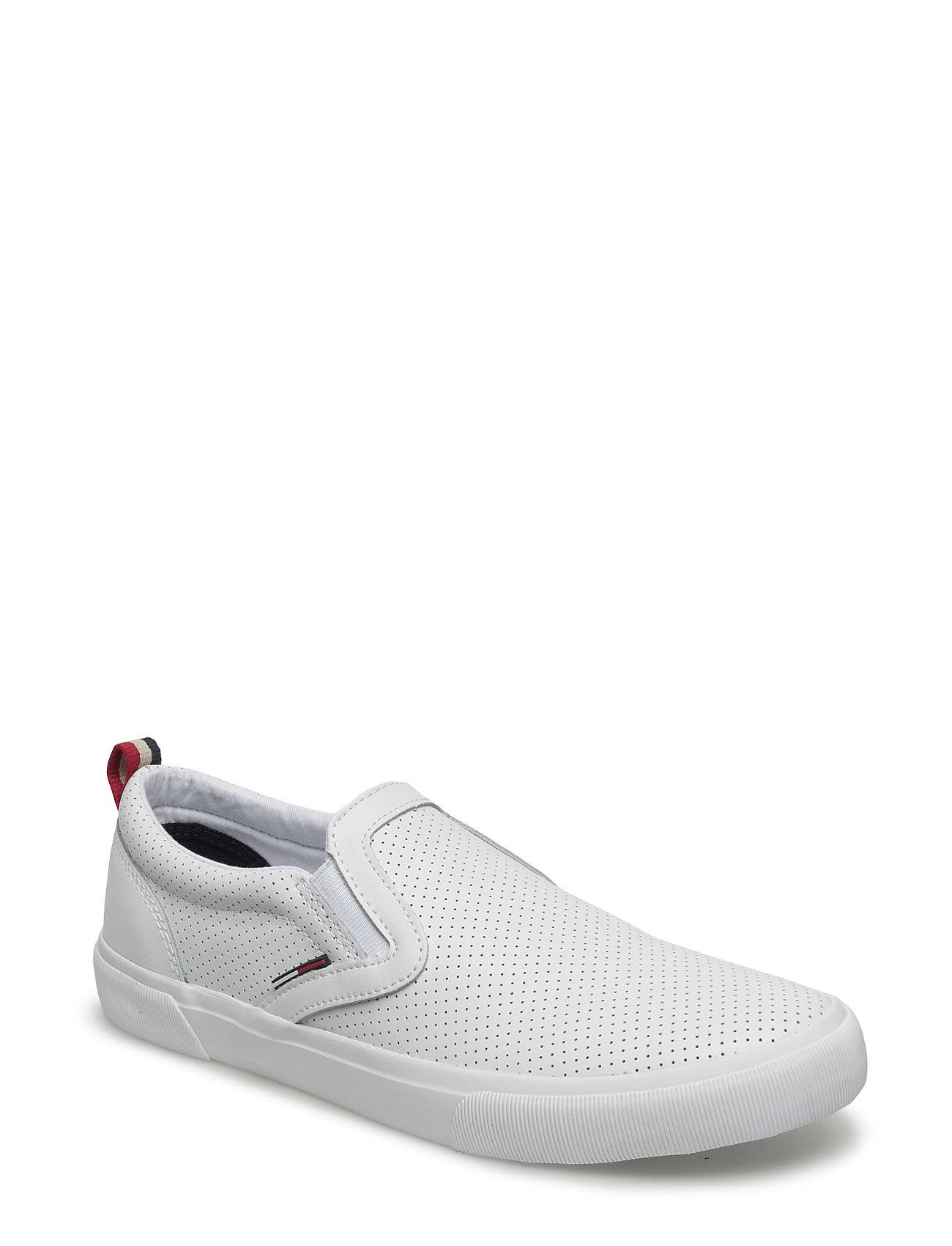 V2385ibe 2a Tommy Hilfiger Sneakers til Herrer i hvid