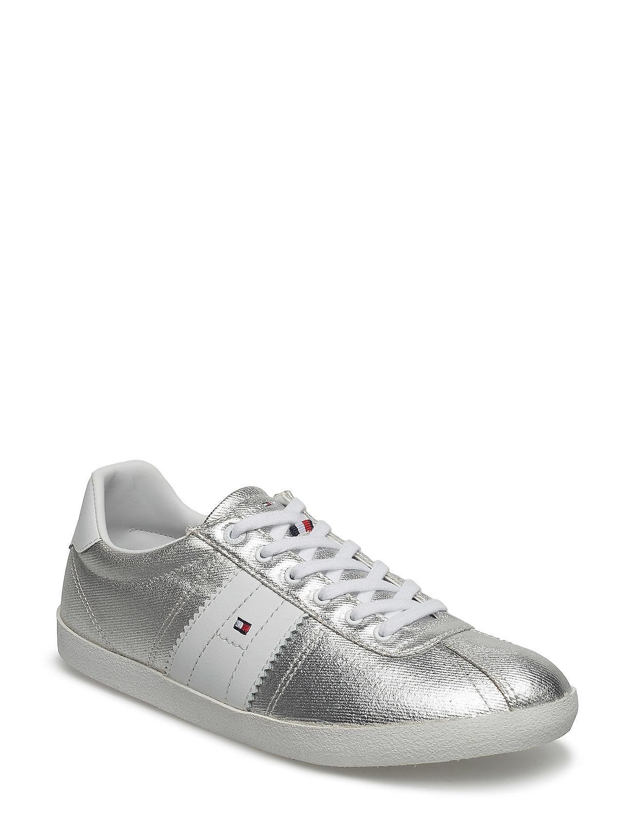 L1285izzie 1d1 Tommy Hilfiger Sneakers til Damer i Sølv