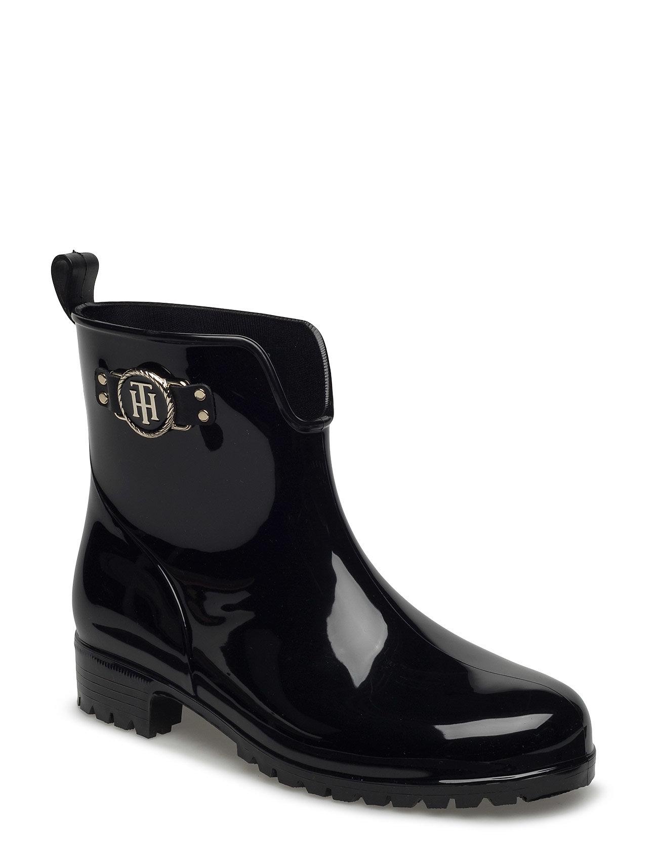 O1285xley 12r Tommy Hilfiger Støvler til Damer i Sort