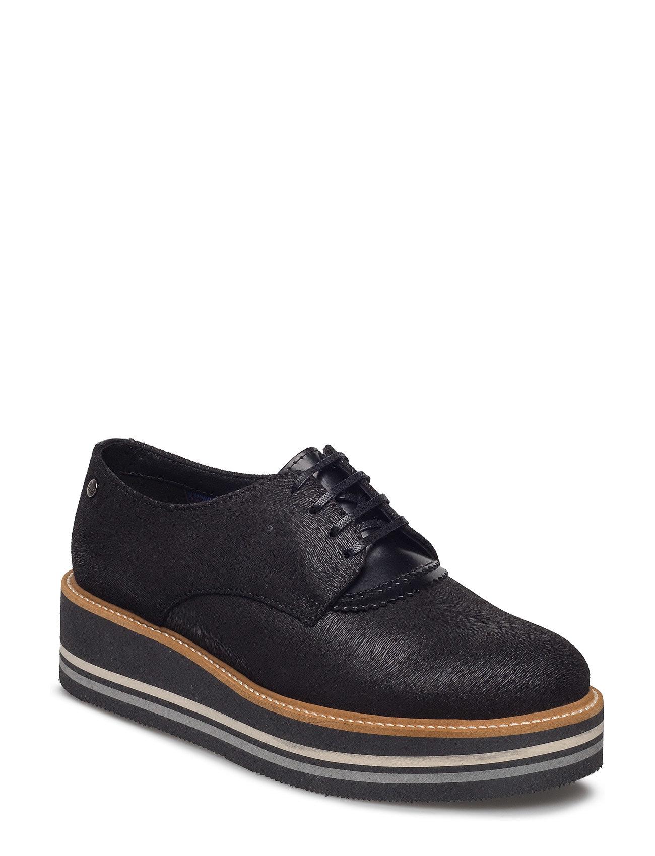 E1285lisa 1z Tommy Hilfiger Flade sko til Damer i Sort