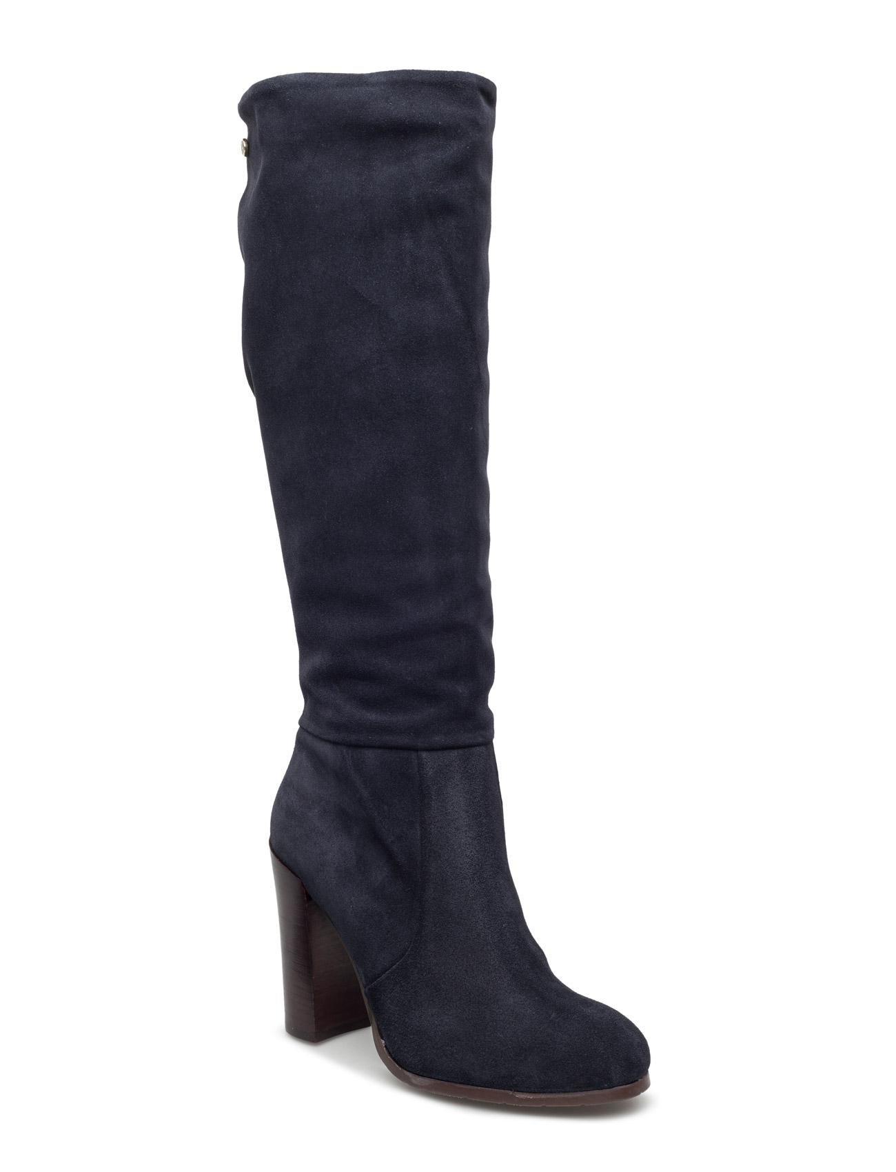 High Suede Boot Hg 3b Tommy Hilfiger Støvler til Kvinder i