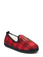 Loafer Slippers - Tango Red