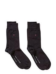 SOCKS 2-PAIRS - BLACK
