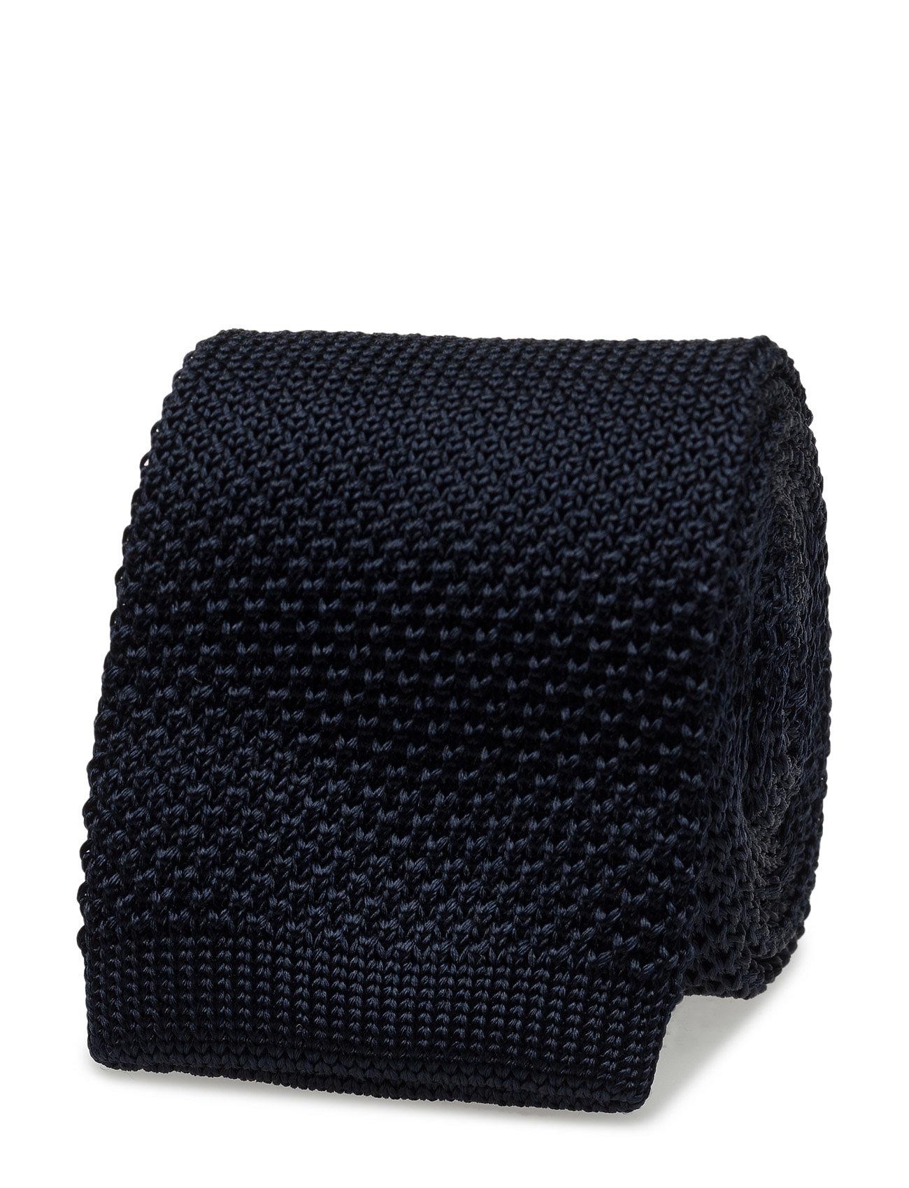 Knit Tie Ttssld17207 Tommy Hilfiger Tailored Accessories til Mænd i Blå