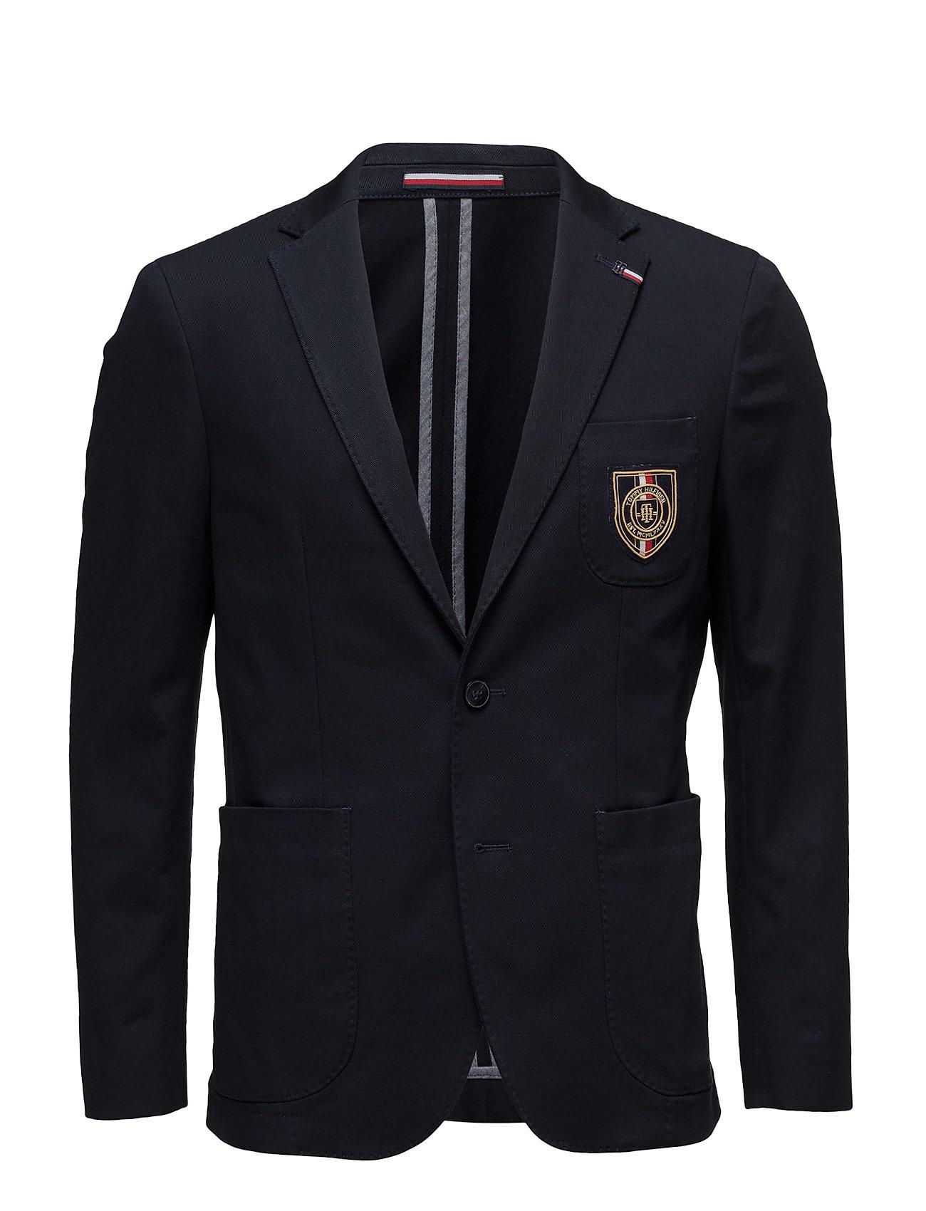 Br-Blk-3pp Blzsld17229 Tommy Hilfiger Tailored Blazere til Herrer i Blå