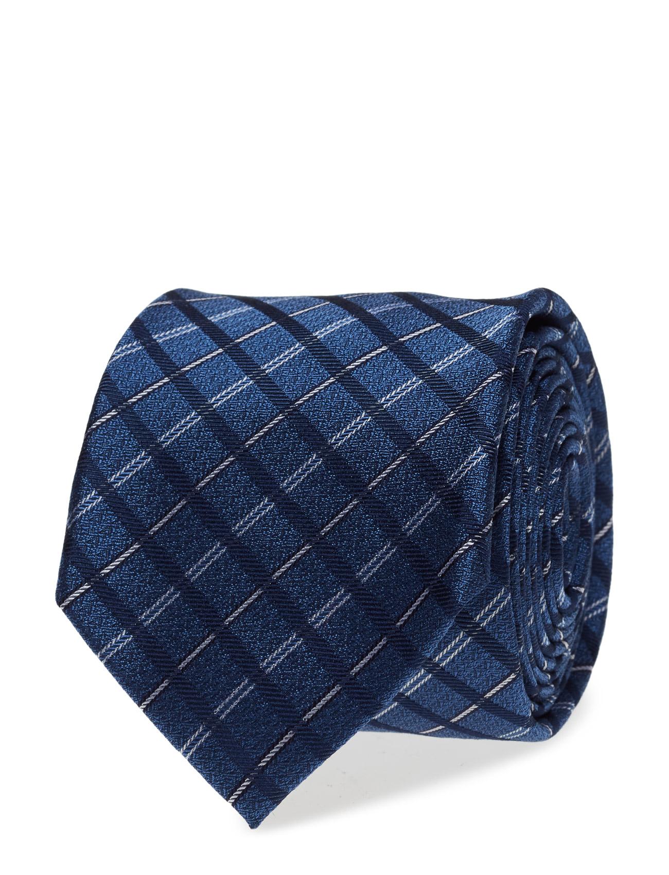 Tie 7 Cm Ttschk17302 Tommy Hilfiger Tailored Accessories til Mænd i Blå