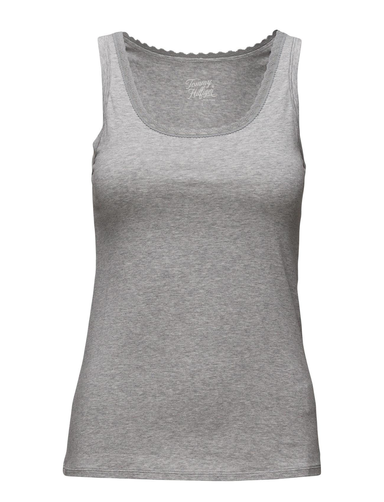 Cotton Cami Top Comfort Tommy Hilfiger Loungewear til Damer i Grå