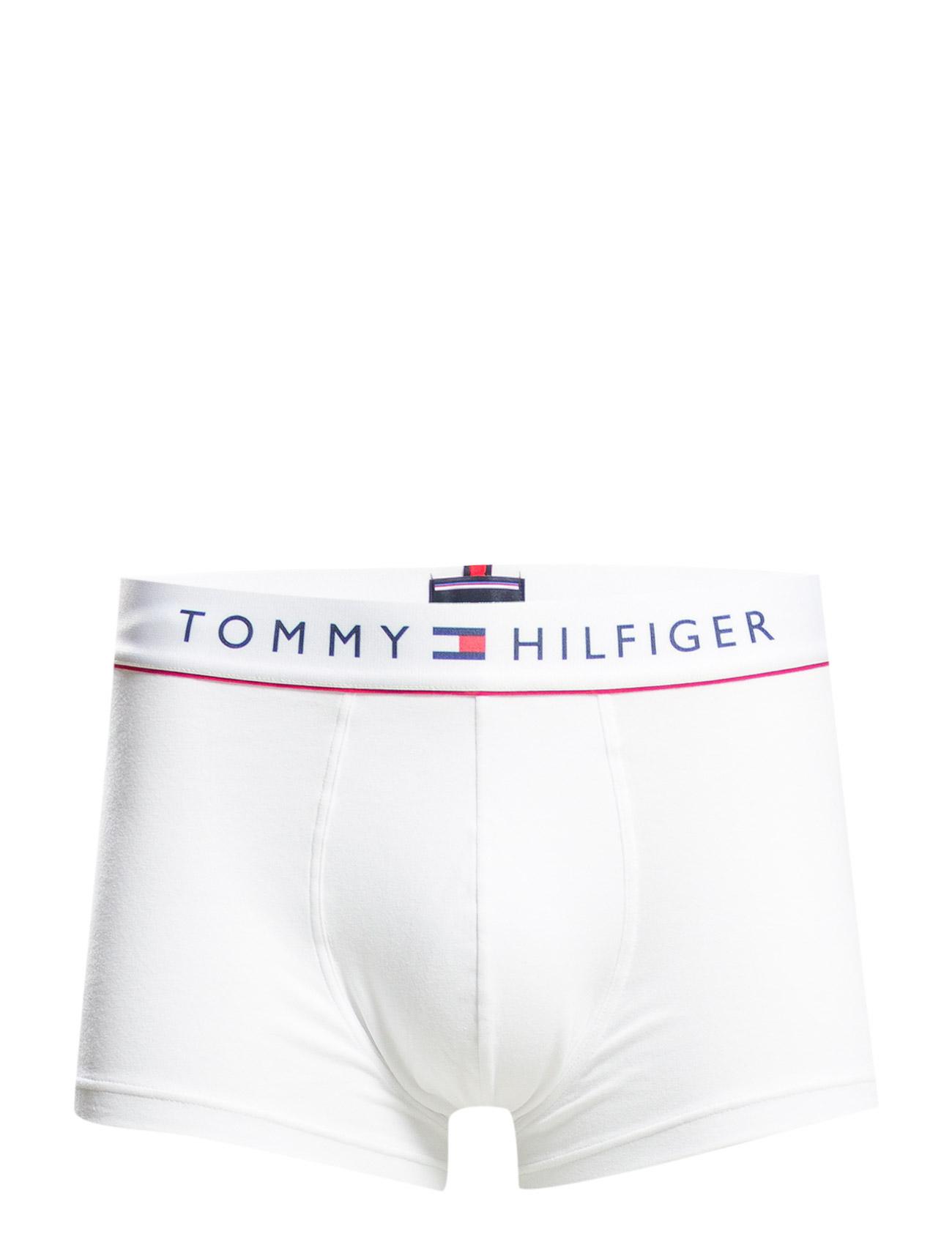 Cotton Low Rise Trunk Flex Tommy Hilfiger Boxershorts til Mænd i Blå