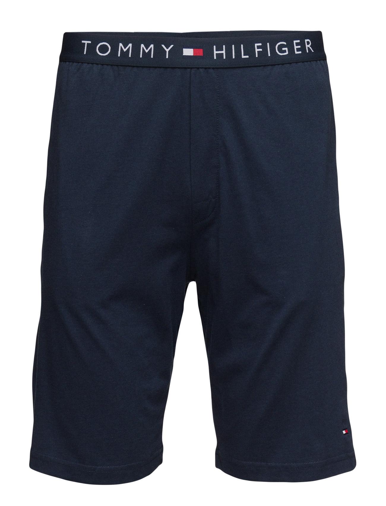 Cotton Short Icon Tommy Hilfiger Nattøj & Loungewear til Mænd i Blå