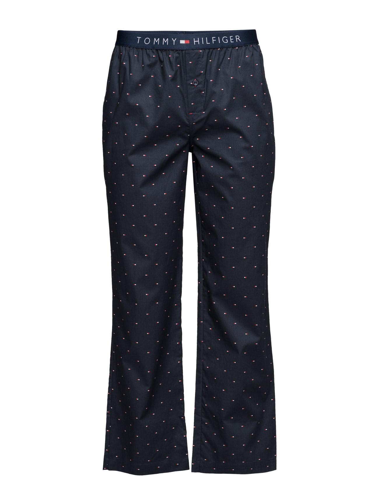 Icon Woven Pant Mini Flag Tommy Hilfiger Nattøj & Loungewear til Herrer i Blå