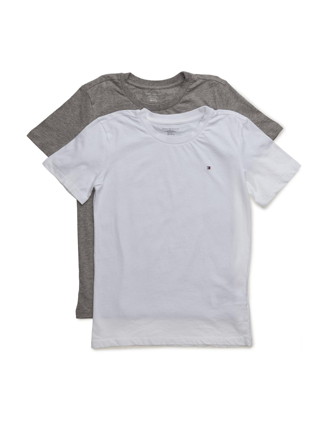 Cotton Cn Tee Ss Icon 2 Pack Tommy Hilfiger Kortærmede t-shirts til Børn i hvid