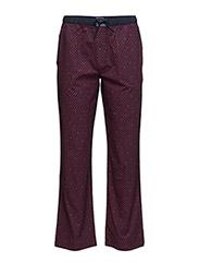 Classic geo woven pant - NAVY BLAZER-PT