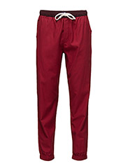 Fashion woven pant - RED