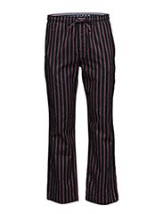 Heritage flannel stripe pant - BLUE