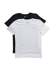 Cotton cn tee ss icon 2 pack - WHITE