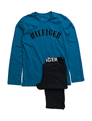 Hilfiger set ls print - BLUE