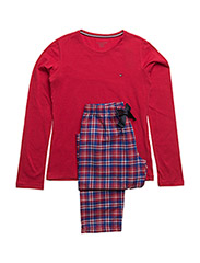 FLANNEL SET LS - RED