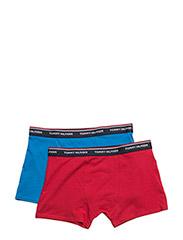 2P TRUNK, 10-12 - BRILLIANT BLUE / TANGO RED
