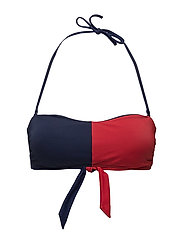 BANDEAU RP, S - NAVY BLAZER - TANGO RED?? NAVY