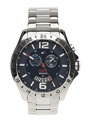 TOMMY HILFIGER BARON GMT Mens - Silver