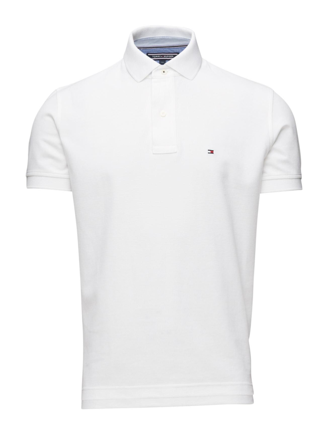 50/2 Performance Polo S/S Rf Tommy Hilfiger Polo t-shirts til Mænd i hvid