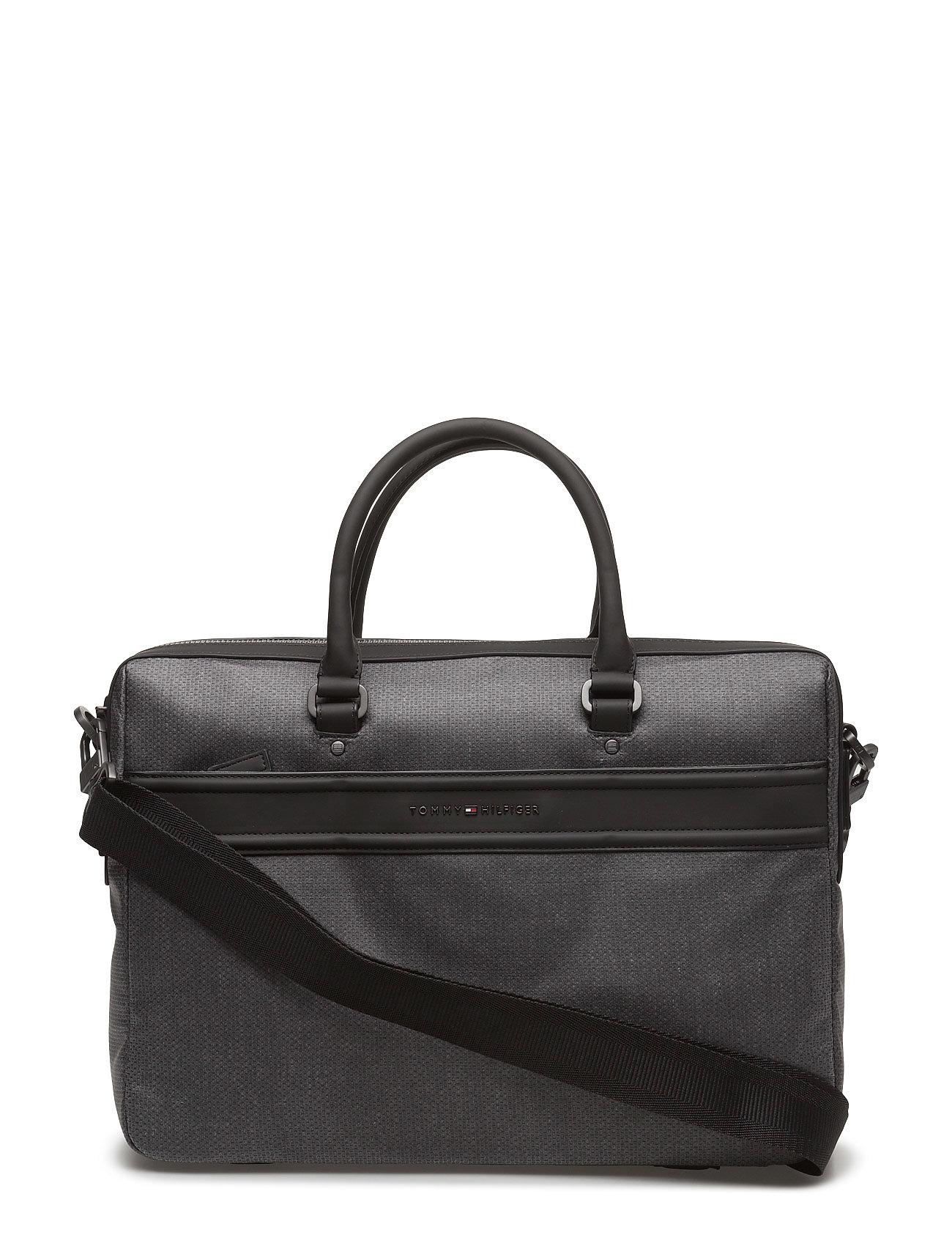 City Business Computer Bag Cc Tommy Hilfiger Tasker til Mænd i Grå